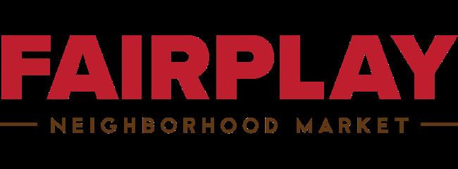A theme logo of Fairplay Foods
